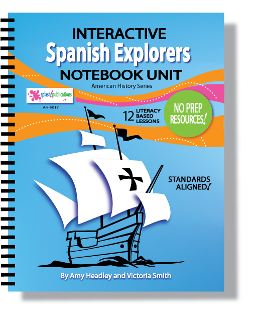 Spanish Explorers Interactive Notebook Unit