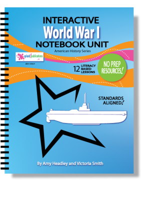 World War I Interactive Notebook Unit