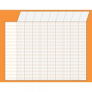 Orange Horizontal Incentive Chart T73215