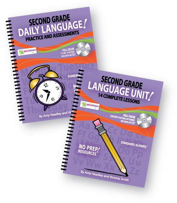 Second Grade Language Bundle
