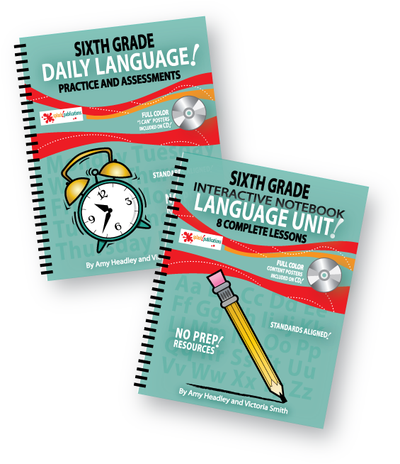 Sixth Grade Language Bundle