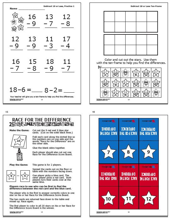 Subtraction Centers – Splash! Publications