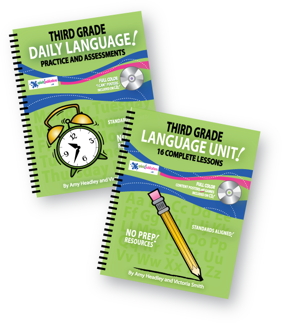 Third Grade Language Bundle