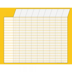 Yellow Horizontal Incentive Chart