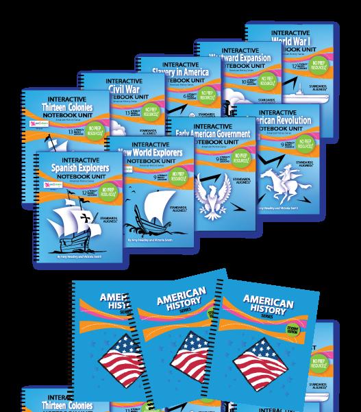 American History Classroom Bundles